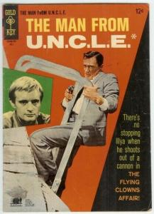 MAN FROM UNCLE (1965-1969 GOLD KEY) 13 VG PHOTOCOVER: R COMICS BOOK