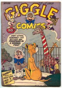 Giggle #55 1948- Superkatt- Golden Age funny Animals- VG