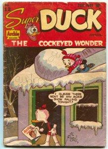 Super Duck #12 1947- Golden Age Archie Funny Animals-VG-