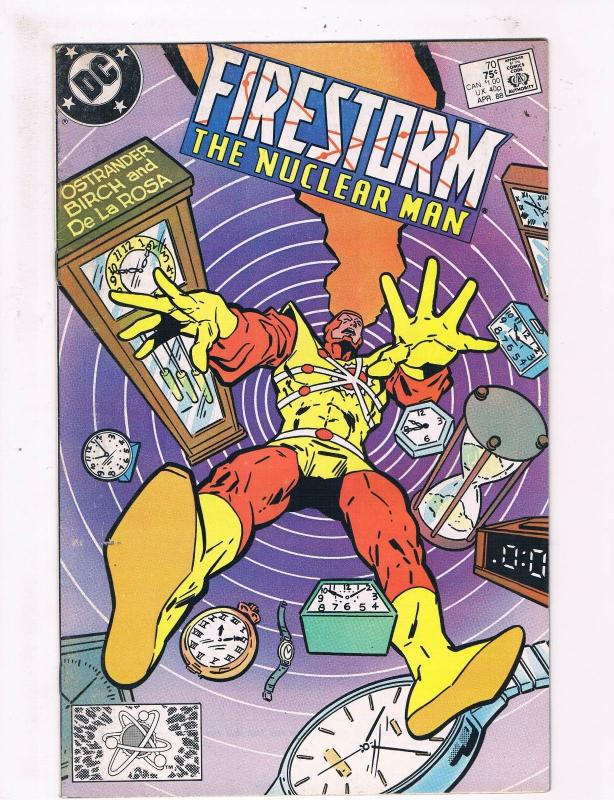 Firestorm #70 FN DC Copper Age Comic Book Flash JLA Batman Atom DE2