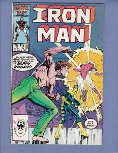 Iron Man #210 FN Marvel 1986