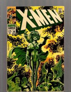 (Uncanny) X-Men # 50 FN Marvel Comic Book Beast Angel Cyclops Magneto SM19