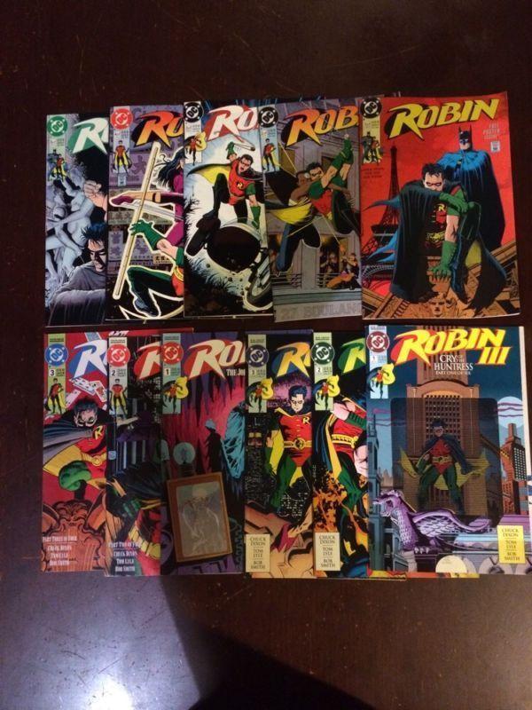 Robin 1-5 Robin 2 1-3 Robin 3 1-3 11 Book Lot