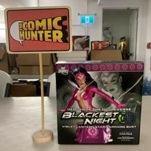 Blackest Night Violet Lantern Star Sapphire Bust