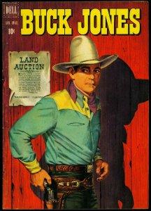 Buck Jones #5 1952- Dell Western- FN-