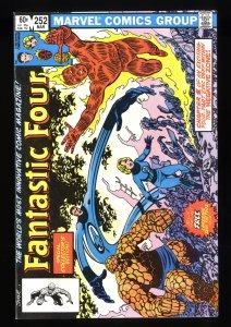 Fantastic Four #252 NM 9.4