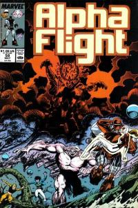 Alpha Flight (1983 series) #58, NM- (Stock photo)