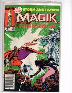 Marvel Comics (1983) Magik #1