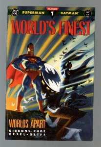 Superman & Batman: World's Finest-Book 1-Dave Gibbons-TPB-trade