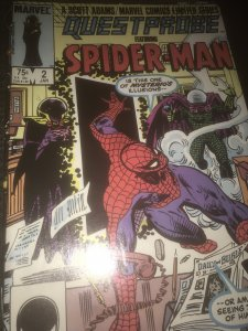 Marvel Quest Probe Feat Spider-Man #2 Mint Rare