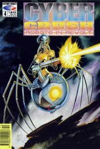 Cyber Crush: Robots in Revolt #4 VF; Fleetway Quality | save on shipping - detai
