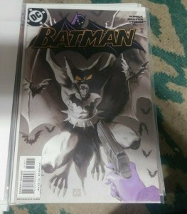 Batman #626  2004 DC COMIC THE CROW FLIES PT 1 MANBAT PAINTED COVER MATT WAGNER