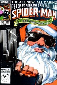 Spectacular Spider-Man (1976 series) #112, VF+ (Stock photo)