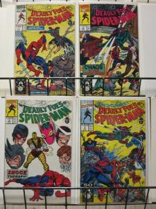 DEADLY FOES OF SPIDERMAN 1-4 WEB HEADS WORST NIGHTMARE;