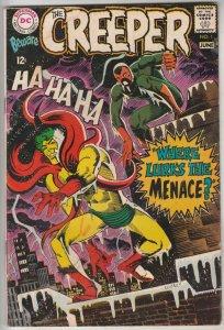 Creeper, Beware The #1 (Jun-68) VG/FN Mid-Grade Creeper