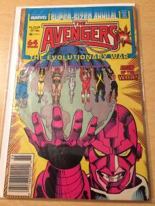 Avengers Annual #17 Evolutionary War