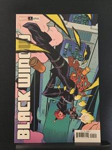 Black Widow #1 variant edition