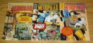 Ted McKeever's Metropol A.D. #1-3 VF/NM complete series - epic comics set lot 2