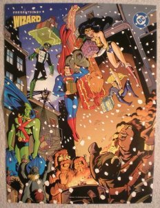 JLA Promo Poster, Christmas, Xmas, 13x10, 1998, Unused, more Promos in store