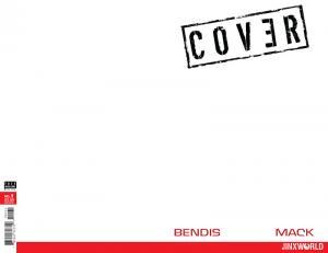 Cover #1 Bendis & Mack Blank Variant (DC, 2018) NM
