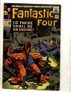 Fantastic Four # 43 FN Marvel Comic Book Silver Age Thing Human Torch Doom GK1