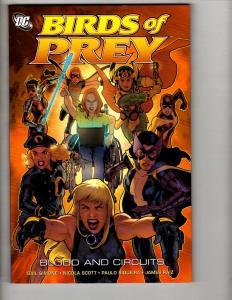 BLOOD & CIRCUITS Birds Of Prey DC Comics Graphic Novel TPB Comic Book J304