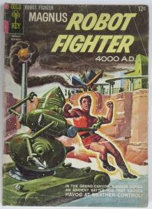 MAGNUS  ROBOT FIGHTER 8 (Gold Key, 11/1964) GOOD (G+) COMICS BOOK