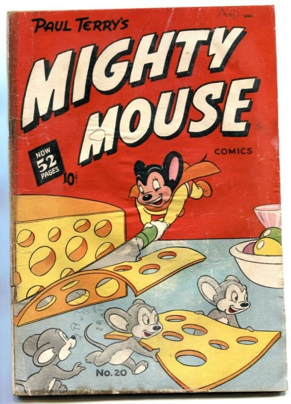 Mighty Mouse #20 1950- Golden Age comic G+