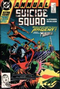 Suicide Squad (1987 series) Annual #1, VF- (Stock photo)