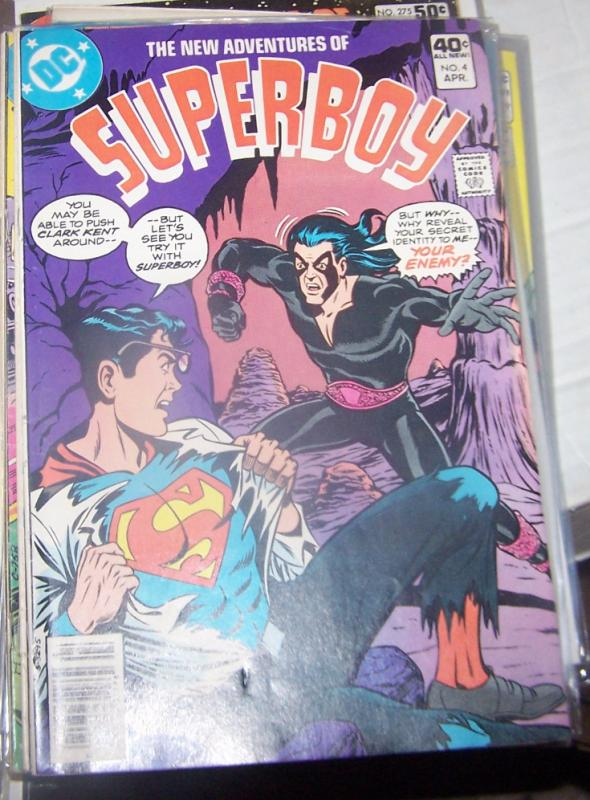 NEW ADVENTURES OF SUPERBOY # 4 DC  1980 ASTRALAD + CARY BATES