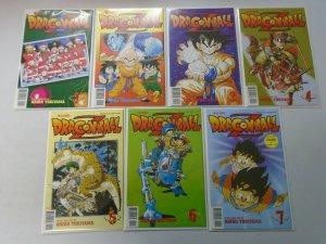 Dragon Ball Z part 2 set #1-14 8.0 VF (1998 Viz)