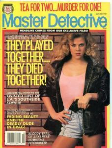 MASTER DETCETIVE-DEC/1991-SOUTHSIDE SLAYER-DUDE'S IN DRAG-TEA FOR TWO! VG/FN