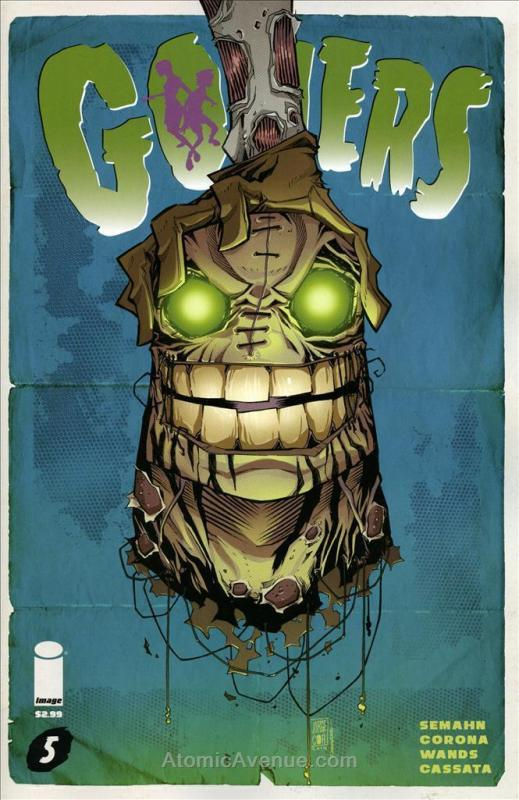 Goners #5 VF/NM; Image | save on shipping - details inside
