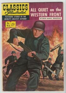 Classics Illustrated #95 (Nov-66) VF High-Grade