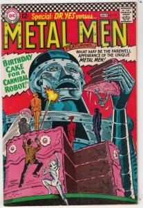 Metal Men #20 (Jun-66) VG/FN+ Mid-Grade Metal Men (Led, Tina, Tin, Gold, Merc...