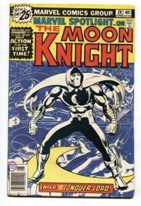 MARVEL SPOTLIGHT #28  1st Solo MOON KNIGHT - comic book