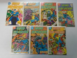 Superboy lot 14 different 35c covers from #228-245 + Giant size 4.0 VG (1977-78)
