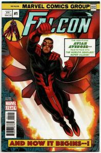 Falcon #1 / 2nd Printing Variant (Marvel, 2018) NM