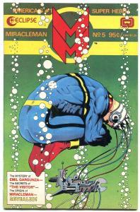 MIRACLEMAN #5 1986-Alan Moore- Origin Revealed