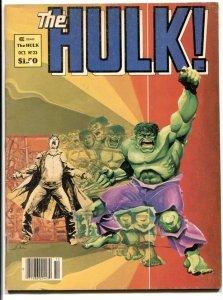 Hulk #23 1981 -Marvel Magazine- Walt Simonson cover VG/FN