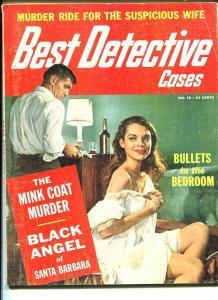 BEST DETECTIVE CASES-#10 1961-VG/FN-CHEESECAKE-MURDER-RAPE- VG/FN