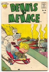 Dennis The Menace #40 1960- Hallden comic book FN