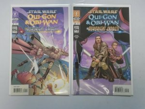 Star Wars Qui-Gon and Obi-Wan The Aurorient Express Set: #1&2 8.0 VF (2002)