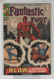 FANTASTIC FOUR (1961 MARVEL) #56 FN/VF A01947