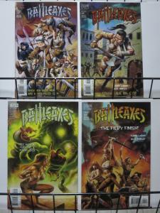 BATTLEAXES (2000 VERTIGO) 1-4  complete series