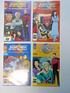 Star Trek The Next Generation The Modala Imperative set #1 to #4 - NM - 1991