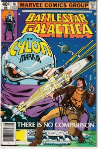 Richard Hatch Autographed Battlestar Galatica(Marvel) # 16