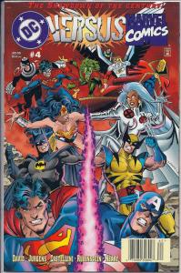 DC Versus Marvel #4 1st Printing N/M Condition