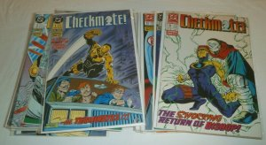 Checkmate (vol. 1, 1988) #1-33 (missing 7 issues), V2 #1 + Grindberg, Erwin DC