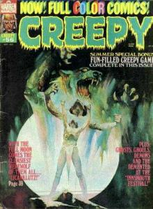 Creepy (1964 series) #56, Fine (Stock photo)